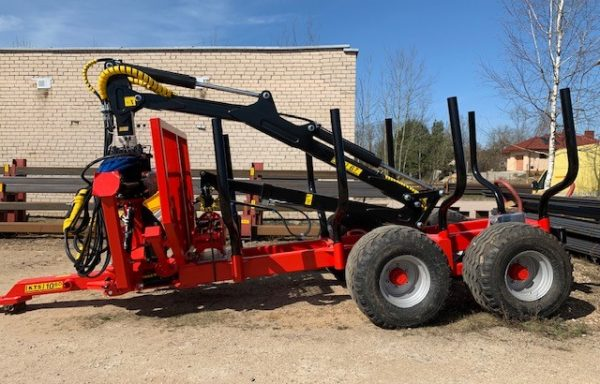 Timber Trailers, Cranes and Attachments