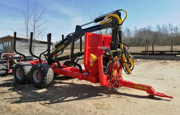 10.6 ton Timber Crane (only one cancelled order) £21,000 plus vat