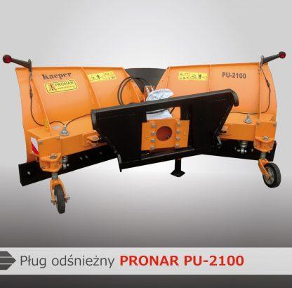 pronar snow plough